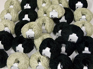 Amigurumi Chenille This mixed lot includes a total of 2000 gr (70.5 oz.) yarn. There is no standard for ball weight. Also disregard any information on the labels. You will get what you see in the photo. Fiber Content 100% Polyester, Brand Ice Yarns, fnt2-64873