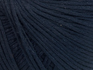 Fiber Content 67% Cotton, 33% Polyamide, Navy, Brand Ice Yarns, fnt2-64935