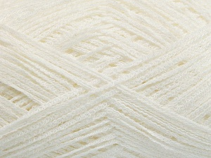 Fiber Content 74% Cotton, 26% Polyamide, White, Brand Ice Yarns, fnt2-64941