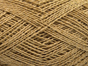 Fiber Content 76% Cotton, 24% Polyester, Brand Ice Yarns, Gold, fnt2-64949