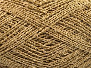 Vezelgehalte 76% Katoen, 24% Polyester, Brand Ice Yarns, Gold, fnt2-64949