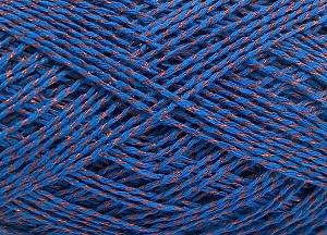 Περιεχόμενο ίνας 76% Βαμβάκι, 24% Πολυεστέρας, Brand Ice Yarns, Blue, fnt2-64952