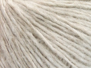 Fiber Content 60% Mako Cotton, 40% Polyamide, Light Beige Melange, Brand Ice Yarns, fnt2-64962