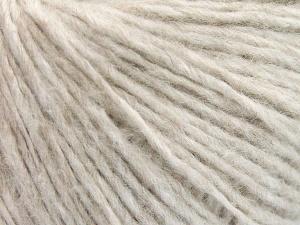 Fiberinnehåll 60% Mako bomull, 40% Polyamid, Light Beige Melange, Brand Ice Yarns, fnt2-64962