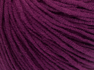 Fiber Content 50% Acrylic, 50% Cotton, Purple, Brand Ice Yarns, fnt2-65003