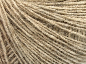 Fiber Content 56% Cotton, 22% Extrafine Merino Wool, 22% Baby Alpaca, Light Camel, Brand Ice Yarns, fnt2-65012