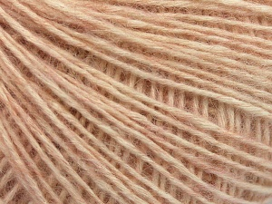 Fiber Content 56% Cotton, 22% Extrafine Merino Wool, 22% Baby Alpaca, Light Pink, Brand Ice Yarns, fnt2-65014