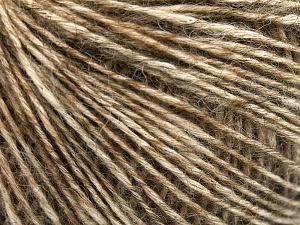 Fiber Content 56% Cotton, 22% Extrafine Merino Wool, 22% Baby Alpaca, Brand Ice Yarns, Caramel, fnt2-65020