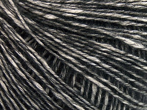 Fiber Content 56% Cotton, 22% Extrafine Merino Wool, 22% Baby Alpaca, Brand Ice Yarns, Black, fnt2-65023