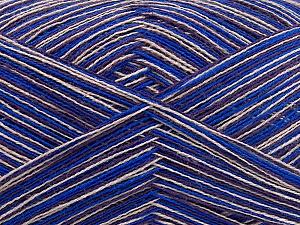 Contenido de fibra 50% Algodón, 50% Acrílico, Maroon, Brand Ice Yarns, Blue, Beige, fnt2-65043