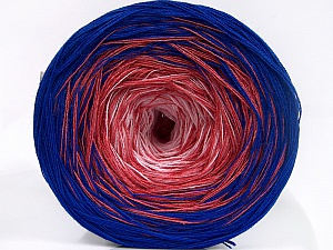 Fiber Content 50% Acrylic, 50% Cotton, Pink Shades, Brand Ice Yarns, Blue, Yarn Thickness 2 Fine  Sport, Baby, fnt2-65059