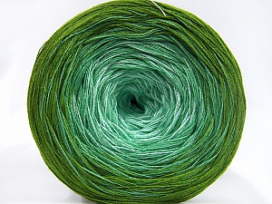 Fiber Content 50% Acrylic, 50% Cotton, Brand Ice Yarns, Green Shades, Yarn Thickness 2 Fine  Sport, Baby, fnt2-65061
