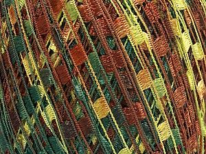 Trellis  Περιεχόμενο ίνας 100% Πολυεστέρας, Brand Ice Yarns, Green Shades, Brown Shades, Yarn Thickness 5 Bulky  Chunky, Craft, Rug, fnt2-65065