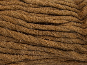 Περιεχόμενο ίνας 100% Αυστραλιανό μαλλί, Light Brown, Brand Ice Yarns, Yarn Thickness 6 SuperBulky  Bulky, Roving, fnt2-65070