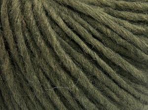 Fiber Content 50% Merino Wool, 25% Alpaca, 25% Acrylic, Khaki, Brand Ice Yarns, fnt2-65079