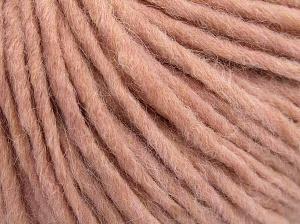 Fiber Content 50% Merino Wool, 25% Acrylic, 25% Alpaca, Light Pink, Brand Ice Yarns, fnt2-65082