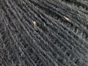 Fiber Content 50% Wool, 40% Acrylic, 10% Viscose, Brand Ice Yarns, Dark Grey, fnt2-65089