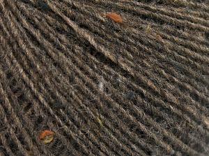 Fiber Content 50% Wool, 40% Acrylic, 10% Viscose, Brand Ice Yarns, Brown, fnt2-65090