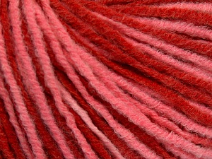 Vezelgehalte 50% Wol, 50% Acryl, Red, Light Salmon, Brand Ice Yarns, fnt2-65138