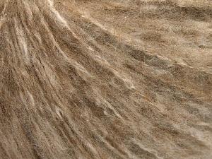 Fiber Content 46% Acrylic, 34% Cotton, 20% Polyester, Brand Ice Yarns, Camel Melange, fnt2-65169