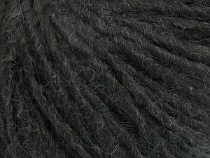 Fiber Content 50% Merino Wool, 25% Alpaca, 25% Acrylic, Brand Ice Yarns, Anthracite Black, fnt2-65172