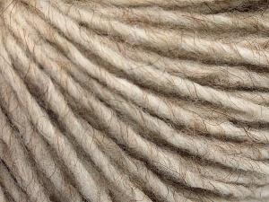 Fiber Content 50% Merino Wool, 25% Acrylic, 25% Alpaca, Light Beige, Brand Ice Yarns, fnt2-65174