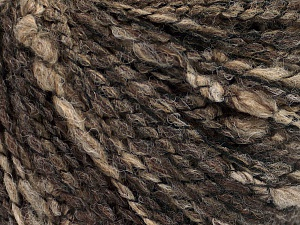 Fiber Content 45% Wool, 45% Acrylic, 10% Polyamide, Brand Ice Yarns, Brown Shades, fnt2-65244