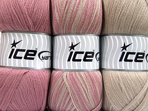 Fiber Content 100% Antipilling Acrylic, Orchid, Light Camel, Brand Ice Yarns, fnt2-65264