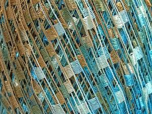 Trellis  Περιεχόμενο ίνας 100% Πολυεστέρας, Light Brown, Brand Ice Yarns, Blue, fnt2-65265