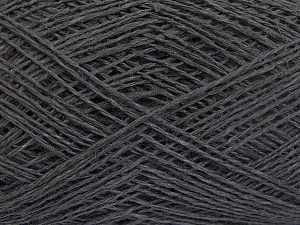 Fiber Content 60% Cotton, 40% Linen, Brand Ice Yarns, Grey, fnt2-65337