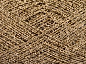 Fiber Content 60% Cotton, 40% Linen, Brand Ice Yarns, Beige, fnt2-65339