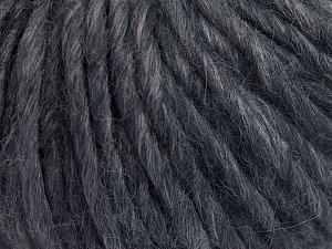 Fiber Content 50% Merino Wool, 25% Acrylic, 25% Alpaca, Brand Ice Yarns, Grey Melange, fnt2-65357