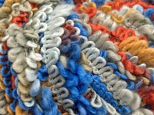 Fiber Content 50% Acrylic, 40% Wool, 10% Polyamide, White, Purple, Brand Ice Yarns, Grey, Copper, Camel, fnt2-65390
