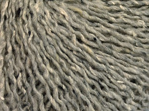 Vezelgehalte 30% Acryl, 30% Wol, 25% Polyester, 15% Zijde, Light Grey, Brand Ice Yarns, fnt2-65408