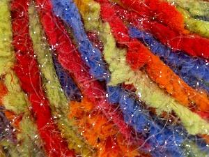 Περιεχόμενο ίνας 100% Πολυαμίδη, Rainbow, Brand Ice Yarns, fnt2-65423