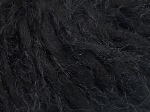 Fiber Content 50% Polyamide, 30% Wool, 20% Acrylic, Brand Ice Yarns, Black, fnt2-65455
