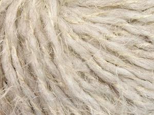 Περιεχόμενο ίνας 50% Πολυαμίδη, 30% Μαλλί, 20% Ακρυλικό, Brand Ice Yarns, Dark Cream, fnt2-65460