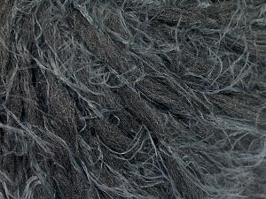 Fiber Content 50% Polyamide, 30% Wool, 20% Acrylic, Brand Ice Yarns, Dark Grey, fnt2-65466
