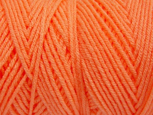 Items made with this yarn are machine washable & dryable. Fiber Content 100% Dralon Acrylic, Neon Orange, Brand Ice Yarns, fnt2-65500
