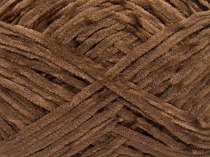 Fiber Content 100% Micro Fiber, Brand Ice Yarns, Dark Brown, Yarn Thickness 3 Light  DK, Light, Worsted, fnt2-65517