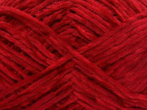 Fiber Content 100% Micro Fiber, Red, Brand Ice Yarns, Yarn Thickness 3 Light  DK, Light, Worsted, fnt2-65525