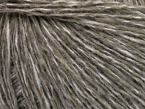 Vezelgehalte 60% Wol, 40% Acryl, White, Light Khaki, Brand Ice Yarns, fnt2-65543