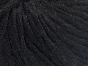 Fiber Content 50% Merino Wool, 25% Acrylic, 25% Alpaca, Brand Ice Yarns, Black, Yarn Thickness 4 Medium  Worsted, Afghan, Aran, fnt2-65547
