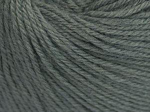 Fiber Content 40% Merino Wool, 40% Acrylic, 20% Polyamide, Brand Ice Yarns, Grey, Yarn Thickness 2 Fine  Sport, Baby, fnt2-65565