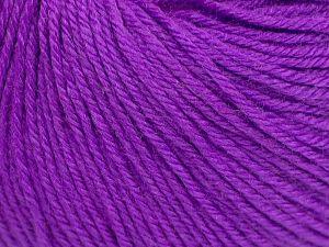 Fiber Content 40% Merino Wool, 40% Acrylic, 20% Polyamide, Purple, Brand Ice Yarns, Yarn Thickness 2 Fine  Sport, Baby, fnt2-65573