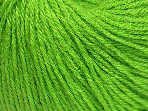 Fiber Content 40% Acrylic, 40% Merino Wool, 20% Polyamide, Brand Ice Yarns, Green, Yarn Thickness 2 Fine  Sport, Baby, fnt2-65576