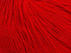 Fiber Content 40% Merino Wool, 40% Acrylic, 20% Polyamide, Red, Brand Ice Yarns, Yarn Thickness 2 Fine  Sport, Baby, fnt2-65585
