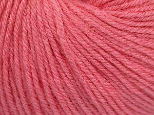 Fiber Content 40% Merino Wool, 40% Acrylic, 20% Polyamide, Pink, Brand Ice Yarns, Yarn Thickness 2 Fine  Sport, Baby, fnt2-65589
