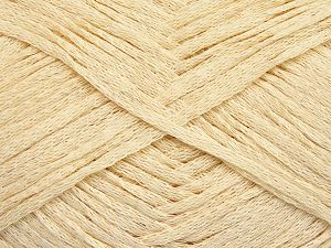 Fiber Content 100% Cotton, Brand Ice Yarns, Dark Cream, Yarn Thickness 3 Light  DK, Light, Worsted, fnt2-65593