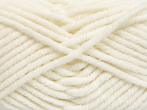Fiber Content 50% Wool, 50% Acrylic, White, Brand Ice Yarns, fnt2-65603